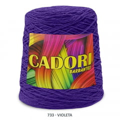 Barbante Cadori Violeta 733 N°8 700 g