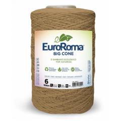 Barbante EuroRoma Nº6 Bege 1,800 KG