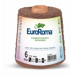 Barbante EuroRoma nº6 Bege 600gr