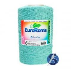 Barbante EuroRoma Nº6 Verde Água Claro 1,800 KG