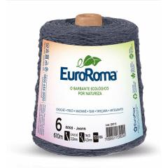 Barbante EuroRoma nº6 Jeans 600gr