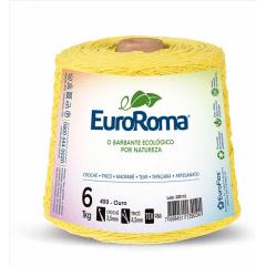 Barbante EuroRoma nº6 Ouro 600gr