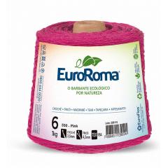Barbante EuroRoma nº6 Pink 600gr