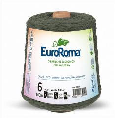 Barbante EuroRoma nº6 Verde Militar 600gr