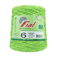 Barbante Fial 44 Verde Abacate 700g