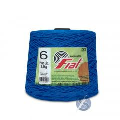 Barbante Fial 59 Azul Royal nº6 1,5kg