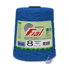 Barbante Fial 59 Azul Royal nº8 700gr