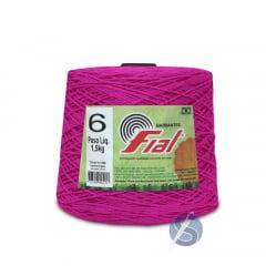Barbante Fial 81 Pink nº6 1,5kg