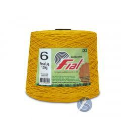 Barbante Fial Amarelo Ouro nº6 1,5kg