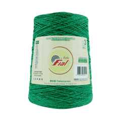 Barbante Fial Arte 47 Verde Bandeira  nº3 370gr