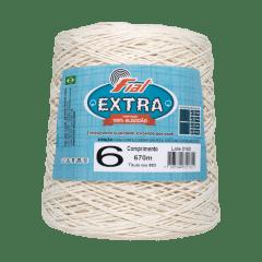 Barbante Fial Cru Extra nº6 600gr