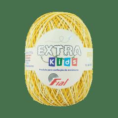 Barbante Fial Extra Kids 14 M Amarelo Ouro Multicolor 130g