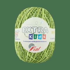 Barbante Fial Extra Kids 46 M Verde Oliva Mesclado 130g