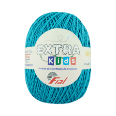 Barbante Fial Extra Kids 56 Azul Turquesa 130g