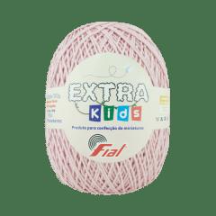 Barbante Fial Extra Kids 69 Rosa Claro 130g