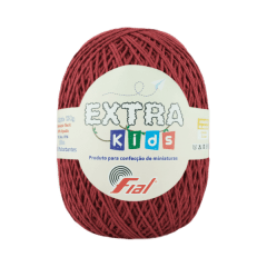 Barbante Fial Extra Kids 83 Bordô 130g