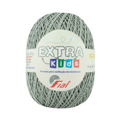 Barbante Fial Extra Kids 89 Cinza 130g