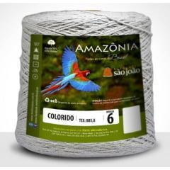 Barbante São João Amazônia Nº 6 Cor 16 Caqui 600g