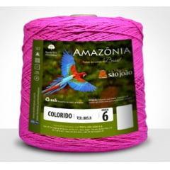 Barbante São João Amazônia Nº 6 Cor 19 Pink 600g