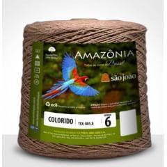 Barbante São João Amazônia Nº 6 Cor 31 Caramelo 600g