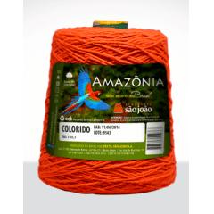 Barbante São João Amazônia Nº 6 Cor 39 Cenoura 600g
