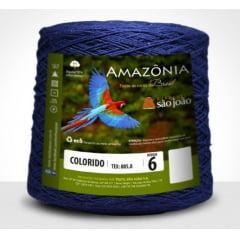 Barbante São João Amazônia Nº 6 Cor 9 Azul Marinho 600g
