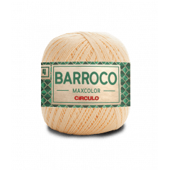 Barbante Barroco Maxcolor nº4 1114 Amarelo Candy 200gr