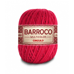Barbante Barroco Multicolor nº6 9153 Cabaré 400g