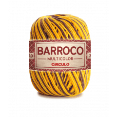Barbante Barroco Multicolor nº6 9492 Girassol 400g