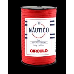 Fio Náutico 3402 Vermelho Círculo 500 Gr