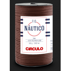 Fio Náutico 7382 Chocolate 500 Gr
