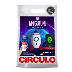 Kit Amigurumi Círculo Foguete