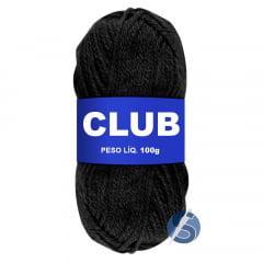 Lã Club Pingouin 100 Preto 100gr