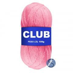 Lã Club Pingouin 377 Rosa 100gr