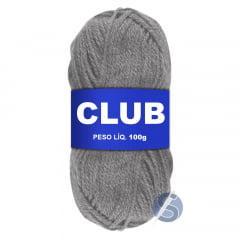 Lã Club Pingouin 824 Cinza 100gr