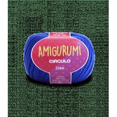 Linha Amigurumi 2829 Azul Bic 254 m