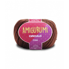 Linha Amigurumi 7569 Tabaco 254 m