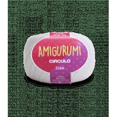 Linha Amigurumi 8001 Branco 254m