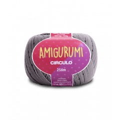 Linha Amigurumi 8797 Aço 254 m