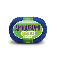 Linha Amigurumi Maxi 2829 Azul Bic 114 m