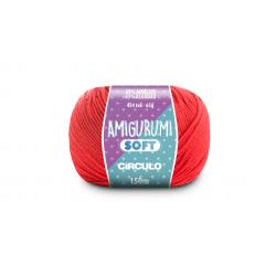 Linha Amigurumi Soft 4004 Coral Vivo