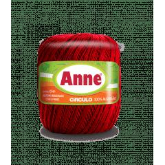 Linha Anne 3402 Vermelho Círculo 65m Círculo