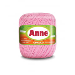 Linha Anne 3526 Rosa Candy 65m Círculo