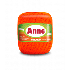 Linha Anne 4445 Tangerina 65m Círculo