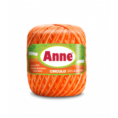 Linha Anne 9059 Abóbora 65m Círculo