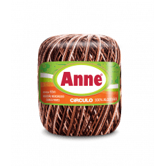 Linha Anne 9601 Capuccino 65m Círculo
