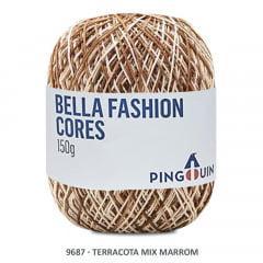 Linha Bella Fashion 9687 Terracota Mix Marrom 150 Gr