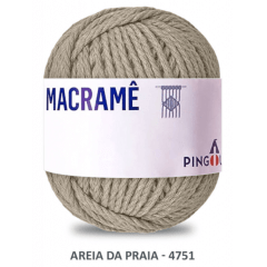 Linha Macramê Areia - de - Praia 4751