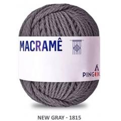 Linha Macramê New Gray 1815