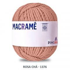 Linha Macramê Rosa Chá 1376